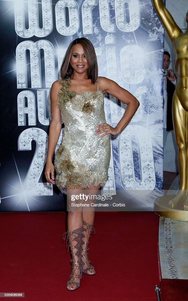 Deborah Cox attends the 'World Music Awards 2010 - show' at the Sporting Club on May 18, 2010 in Monte Carlo, Monaco.