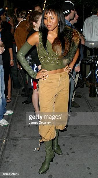 Deborah Cox during Fashion Week After Party at Lotus at Lotus in New York City, New York, United States.