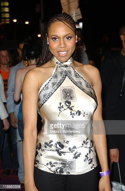 """Deborah Cox during Prince's Release Party for his New CD """"Musicology"""" at Webster Hall in New York City, New York, United States."""