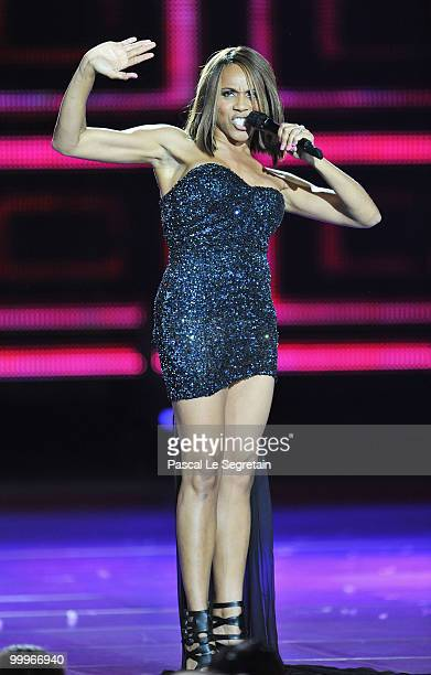 Deborah Cox performs onstage during the World Music Awards 2010 at the Sporting Club on May 18, 2010 in Monte Carlo, Monaco.