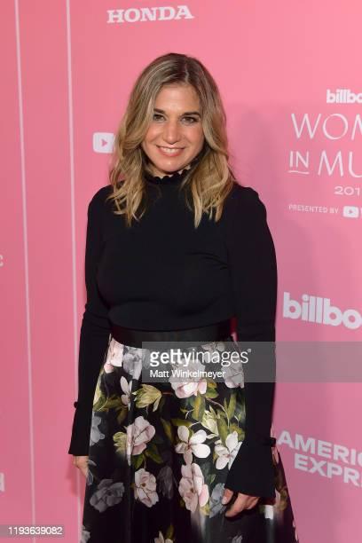 Deborah Curtis attends Billboard Women In Music 2019 presented by YouTube Music on December 12 2019 in Los Angeles California