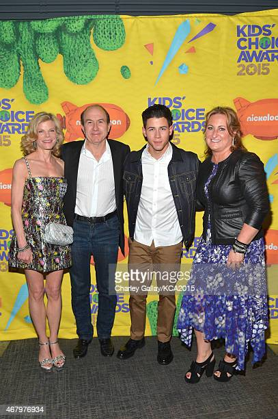 Deborah Dauman President and CEO of Viacom Philippe Dauman host Nick Jonas and President of Nickelodeon and Viacom Media Networks Kids Family Group...