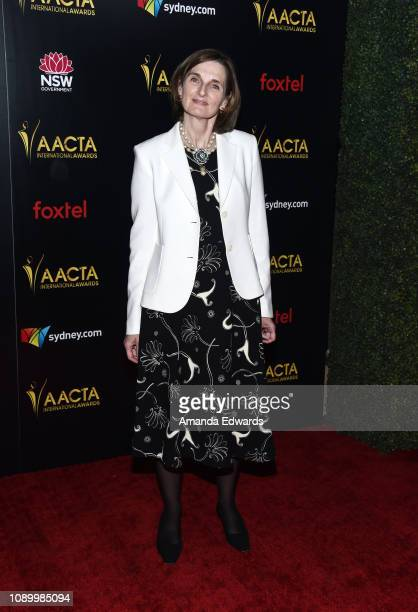 Deborah Davis arrives at the 8th AACTA International Awards at Mondrian Los Angeles on January 04 2019 in West Hollywood California