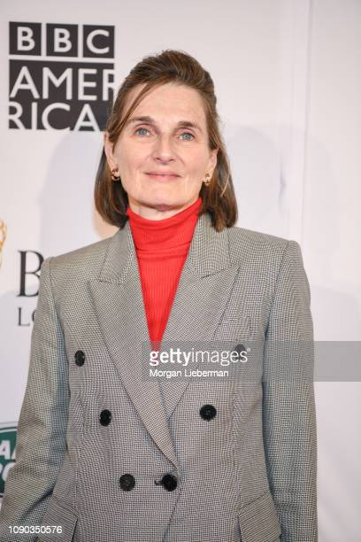 Deborah Davis arrives at the BAFTA Los Angeles Tea Party at the Four Seasons Hotel Los Angeles in Beverly Hills on January 05 2019 in Los Angeles...