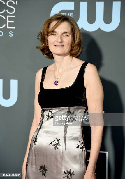 Deborah Davis at The 24th Annual Critics' Choice Awards at Barker Hangar on January 13 2019 in Santa Monica California