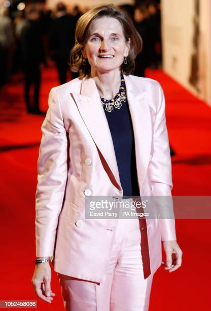 Deborah Davis attending the UK premiere of The Favourite at the BFI Southbank for the 62nd BFI London Film Festival