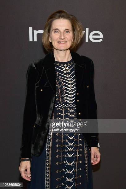 Deborah Davis attends the 2019 InStyle and Warner Bros 76th Annual Golden Globe Awards PostParty at The Beverly Hilton Hotel on January 6 2019 in...