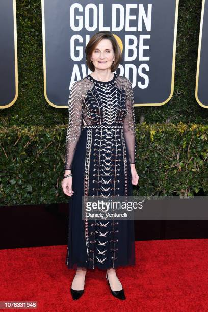 Deborah Davis attends the 76th Annual Golden Globe Awards at The Beverly Hilton Hotel on January 6 2019 in Beverly Hills California