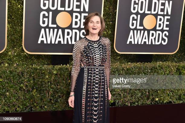 Deborah Davis attends the 76th Annual Golden Globe Awards at The Beverly Hilton Hotel on January 06 2019 in Beverly Hills California