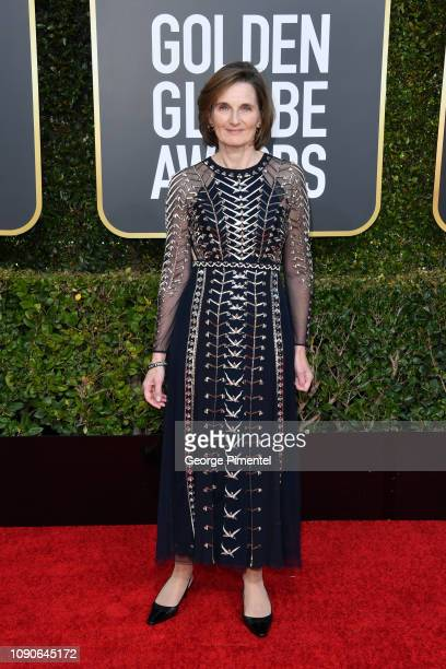 Deborah Davis attends the 76th Annual Golden Globe Awards held at The Beverly Hilton Hotel on January 06 2019 in Beverly Hills California