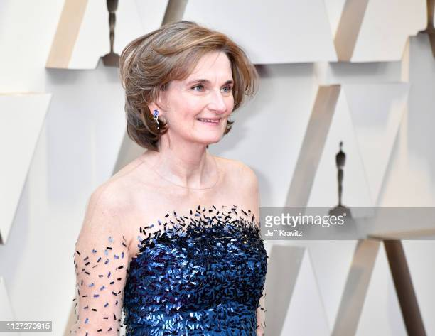 Deborah Davis attends the 91st Annual Academy Awards at Hollywood and Highland on February 24 2019 in Hollywood California