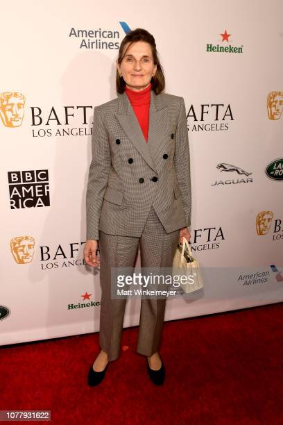 Deborah Davis attends The BAFTA Los Angeles Tea Party at Four Seasons Hotel Los Angeles at Beverly Hills on January 5 2019 in Los Angeles California