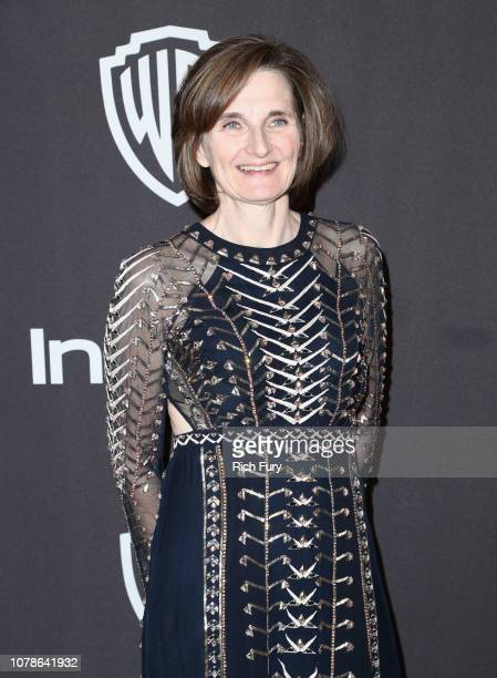 Deborah Davis attends the InStyle And Warner Bros Golden Globes After Party 2019 at The Beverly Hilton Hotel on January 6 2019 in Beverly Hills...