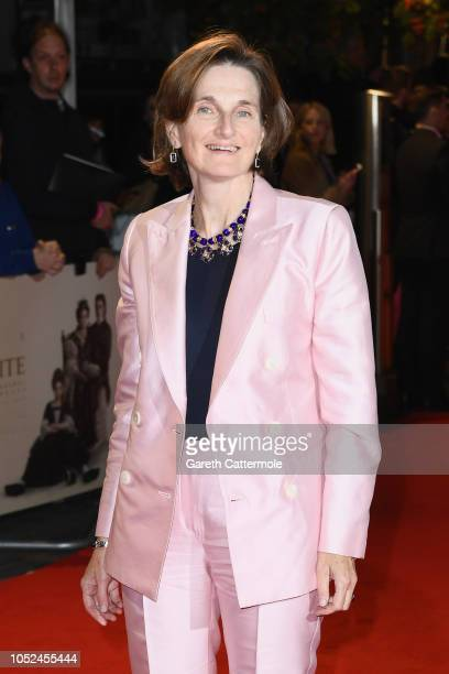 Deborah Davis attends the UK Premiere of The Favourite American Express Gala at the 62nd BFI London Film Festival on October 18 2018 in London England