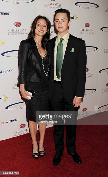 Deborah Driggs and Kevin Gaylord arrive at the 27th Anniversary of Sports Spectacular at the Hyatt Regency Century Plaza on May 20 2012 in Century...