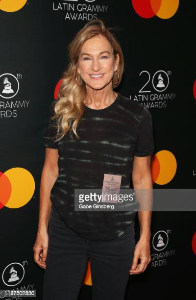 Deborah Dugan attends the gift lounge during the 20th annual Latin GRAMMY Awards at MGM Grand Hotel Casino on November 13 2019 in Las Vegas Nevada