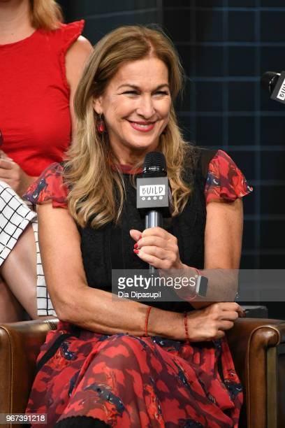 Deborah Dugan visits the Build Series to discuss Eat Save Lives at Build Studio on June 4 2018 in New York City