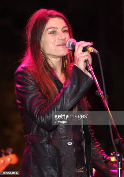 Deborah Falconer performs at the Silver LiningSilver Lake Presents The 2nd Annual Silver Lining Benefit For The Hollywood Sunset Free Clinic