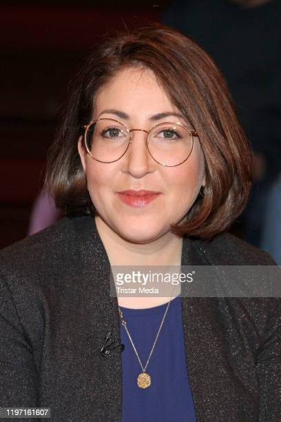 Deborah Feldman during the Markus Lanz TV show on January 28 2020 in Hamburg Germany