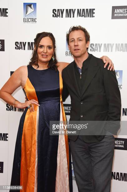 Deborah FrancesWhite and Tobias Menzies attend the Say My Name Gala Screening in association with Amnesty International at the Odeon Luxe Leicester...