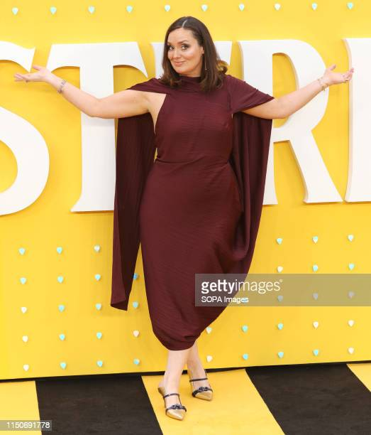 Deborah Frances-White attends the UK Premiere of Yesterday at the Odeon Luxe Leicester Square in London.