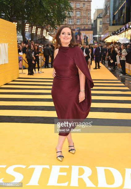Deborah FrancesWhite attends the UK Premiere of Yesterday at the Odeon Luxe Leicester Square on June 18 2019 in London England