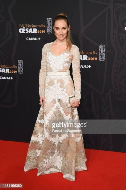 Deborah Francois arrives at the Cesar Film Awards 2019 at Salle Pleyel on February 22 2019 in Paris France