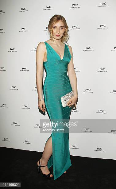 Deborah Francois attends the IWC Presents Peter Lindbergh Exhibition during the 64th Cannes Film Festival on May 15, 2011 in Cannes, France.