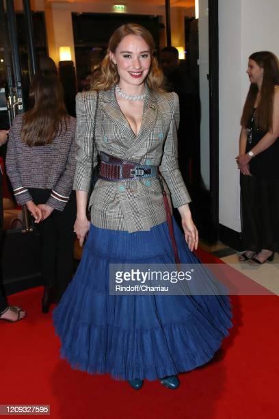 Deborah François attends the Cesar Film Awards 2020 Ceremony at Salle Pleyel In Paris on February 28, 2020 in Paris, France.