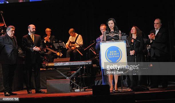 Deborah Gandolfini Tony Sirico Aida Turturro Matt Servitto Vincent Pastore and Vince Curatola attends The 7th Annual New Jersey Hall Of Fame...