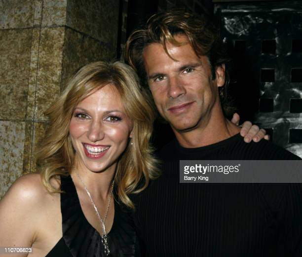 Deborah Gibson and Lorenzo Lamas during Venice Magazine Hosts The Blank Theatre Company's 16th Anniversary Benefit Gala at Cinespace in Hollywood,...