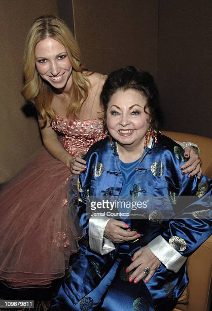 Deborah Gibson and Mimi Hines during Broadway for Medicine Benefit Gala for the National Foundation for Facial Reconstruction March 12 2007 at...