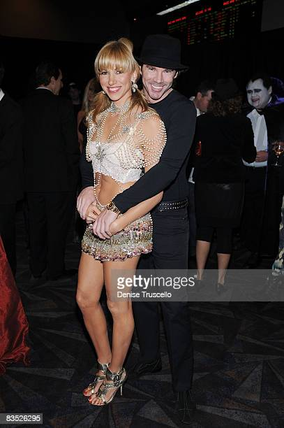 Deborah Gibson and Rutledge Taylor attend the Gala Premiere of Criss Angel Believe by Cirque Du Soleil at the Luxor Hotel and casino on October 31,...