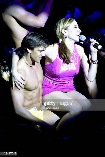 Deborah Gibson during Broadway Bares 2003 Burlesque is Back at Roseland Ballroom in New York City New York United States