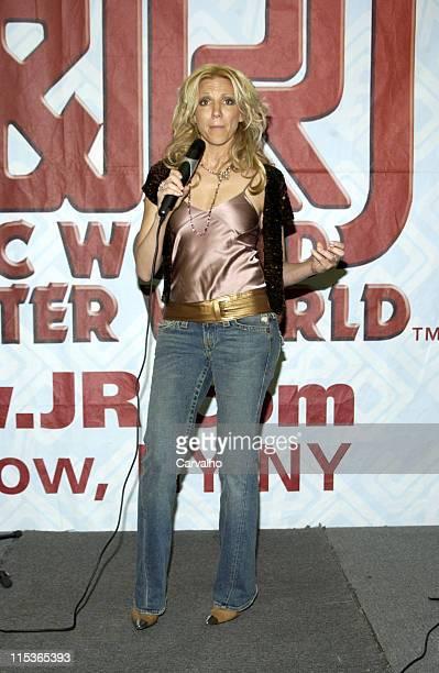 Deborah Gibson during Deborah Gibson Appears at J R Music Store to Promote All in One Portable Karaoke Lyrics And Screen Machine December 28 2004 at...