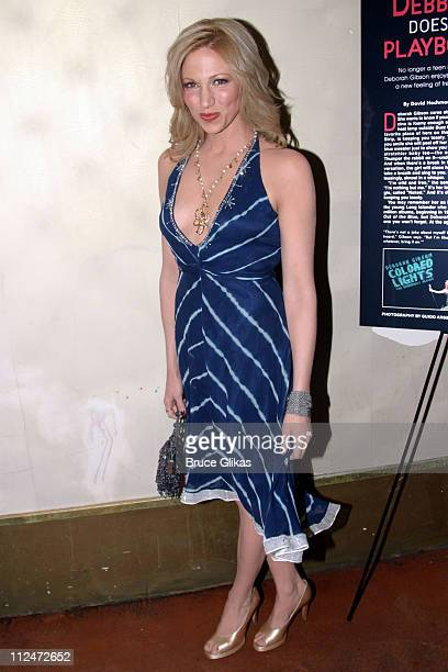 Deborah Gibson during Playboy Celebrates Deborah Gibson's Pictorial in the March 2005 Sex and Music Issue at Marquee Nightclub in New York City New...