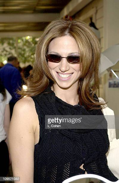 3a66ff7bde2 Deborah Gibson visits Kenneth Cole sunglasses at the Cabana Beauty Buffet  presented with Allure magazine