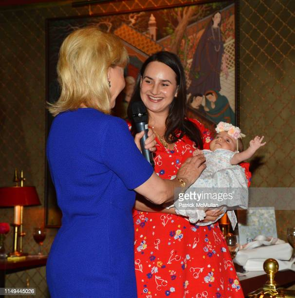 Deborah Goodrich Royce Alexandra Kittle and Annabelle Kittle attend Deborah Goodrich Royce's Finding Mrs Ford Book Launch at Doubles on June 11 2019...