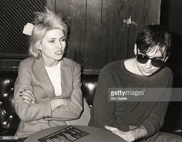 Deborah Harry and Chris Stein of Blondie