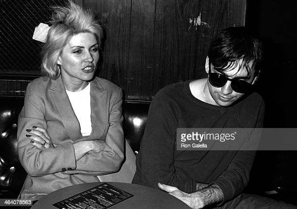 Deborah Harry and Chris Stein of Blondie sighted on April 3 1979 at the Whiskey in West Hollywood California
