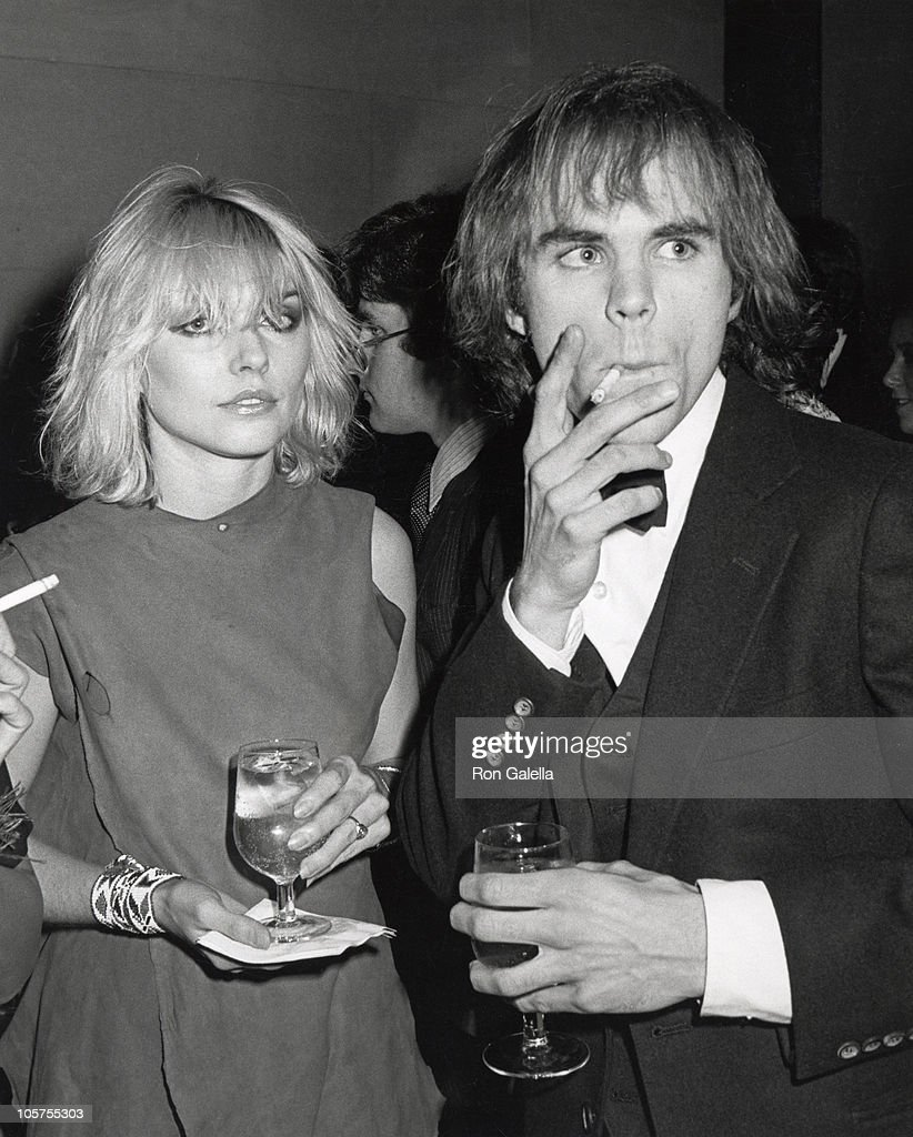 """Debbie Harry & designer Stephen Sprouse - Fashions of Hapsburg: I like this image because, as always, Harry stayed true to her style. With her is friend and fashion designer Stephen Sprouse who dressed up for the evening's event."" - Ron Galella 
