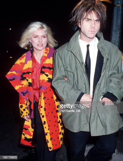 Deborah Harry and guest during 'The Glass Menagerie' New York City Premiere at Carnegie Hall in New York City New York United States