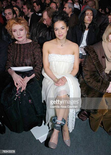 Deborah Harry and Michelle Rodriguez