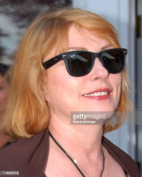 Deborah Harry during The Cinema Society and The Wall Street Journal host The Illusionist Arrivals at Southampton UA Cinema in Southampton New York...