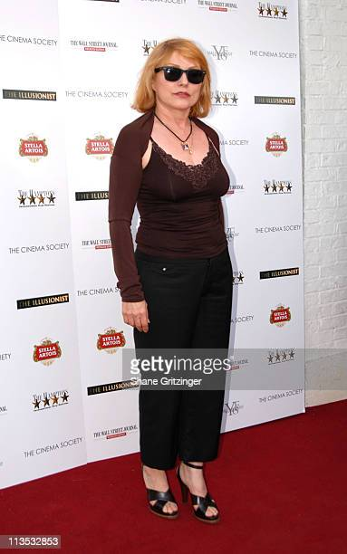 """Deborah Harry during The Cinema Society and The Wall Street Journal host """"The Illusionist"""" - Arrivals at Southampton UA Cinema in Southampton, New..."""