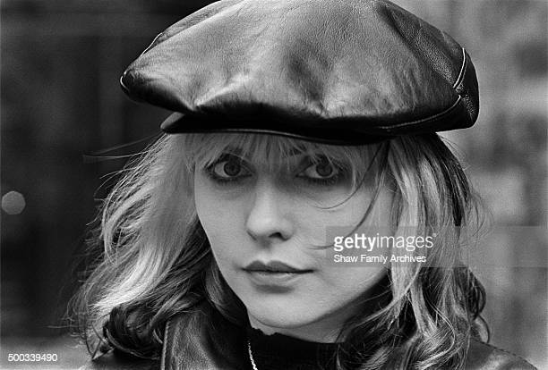 Deborah Harry in 1980 during the filming of the documentary 'Blondie' in New York New York