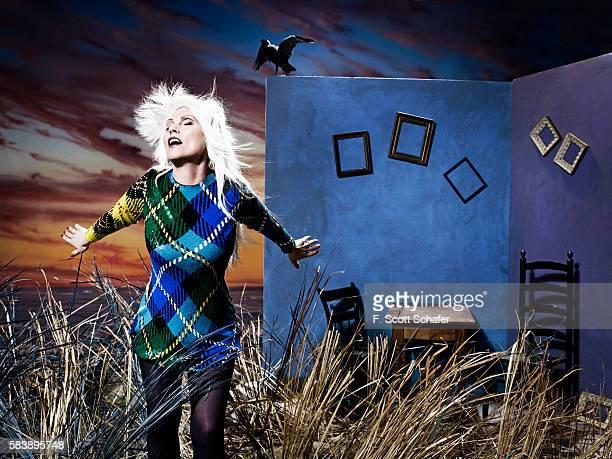 Deborah Harry of Blondie is photographed on April 18, 2011 in New York City.