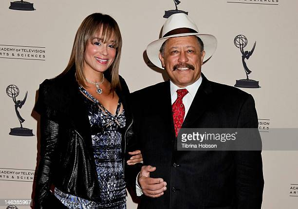 Deborah Herron and Joe Brown attend the 39th annual daytime Emmy Awards nominees reception at SLS Hotel on June 14 2012 in Beverly Hills California