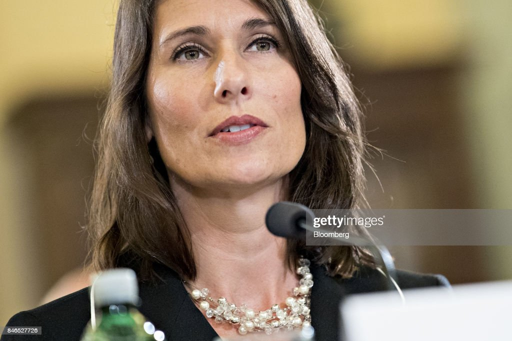Deborah Hersman, president and chief executive officer of the National Safety Council, speaks during a Senate Commerce, Science, and Transportation Committee hearing in Washington, D.C., U.S., on Wednesday, Sept. 13, 2017. The hearing is titled, Transportation Innovation: Automated Trucks and our Nation's Highways. Photographer: Andrew Harrer/Bloomberg via Getty Images