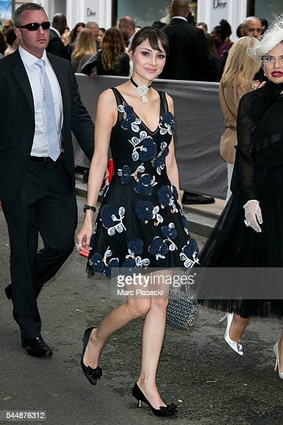 Deborah Hung attends the Christian Dior Haute Couture Fall/Winter 20162017 show as part of Paris Fashion Week on July 4 2016 in Paris France